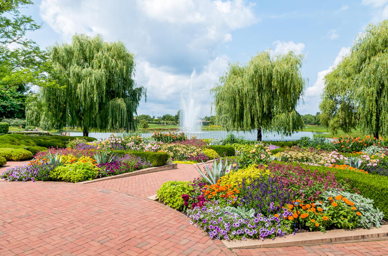 Attractive Download Chicago Botanic Garden, USA Stock Photo   Image Of Botanical,  Forest: 45410852