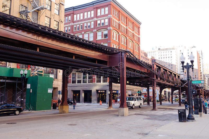 Chicago céntrica fotos de archivo
