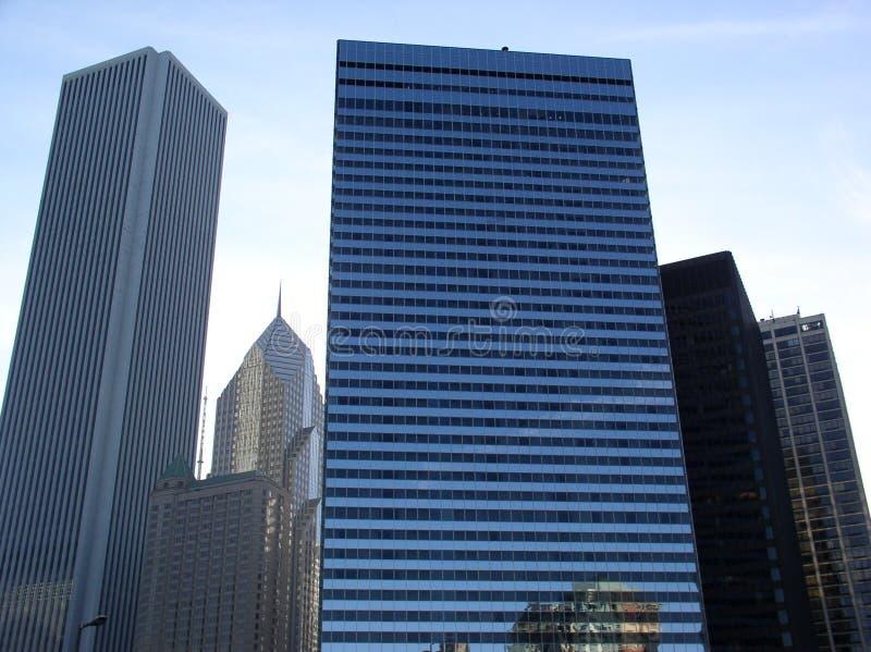 Chicago céntrica fotografía de archivo