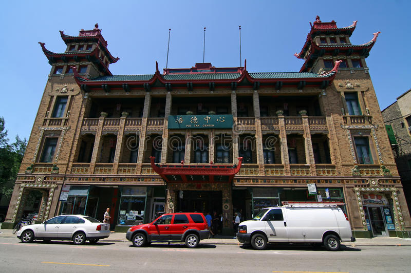 Download Chicago Chinatown editorial image. Image of cultural - 21078790