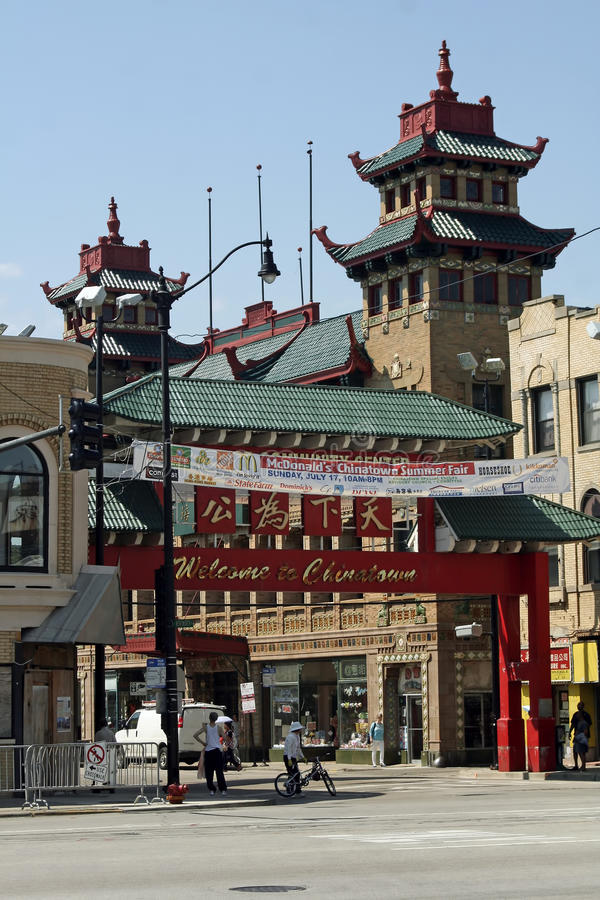 Free Chicago Chinatown Royalty Free Stock Images - 21078859