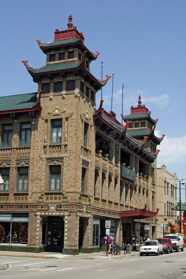 Download Chicago Chinatown editorial image. Image of illinois - 21079055