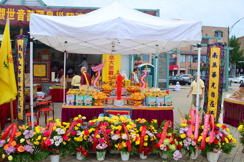 Chicago Chinatown Summer Fair royalty free stock photos