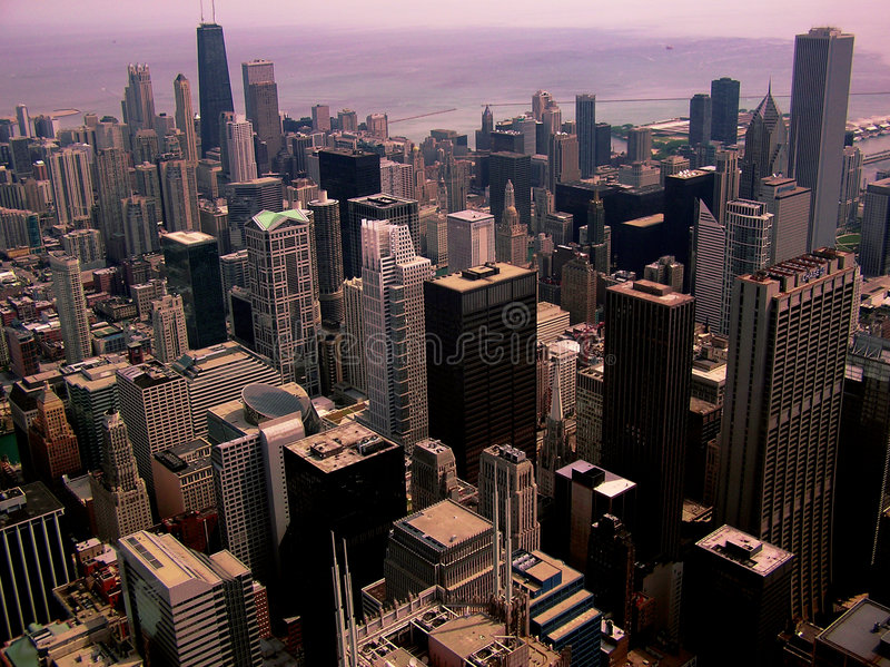Chicago City Scape #1 stock images