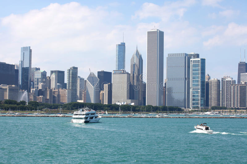 Chicago city royalty free stock image