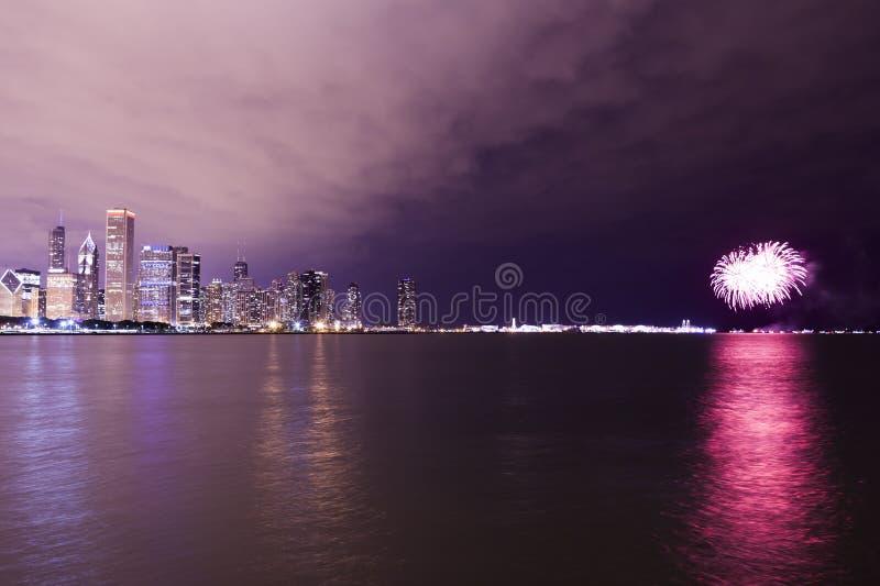 Chicago c?ntrica fotografía de archivo libre de regalías