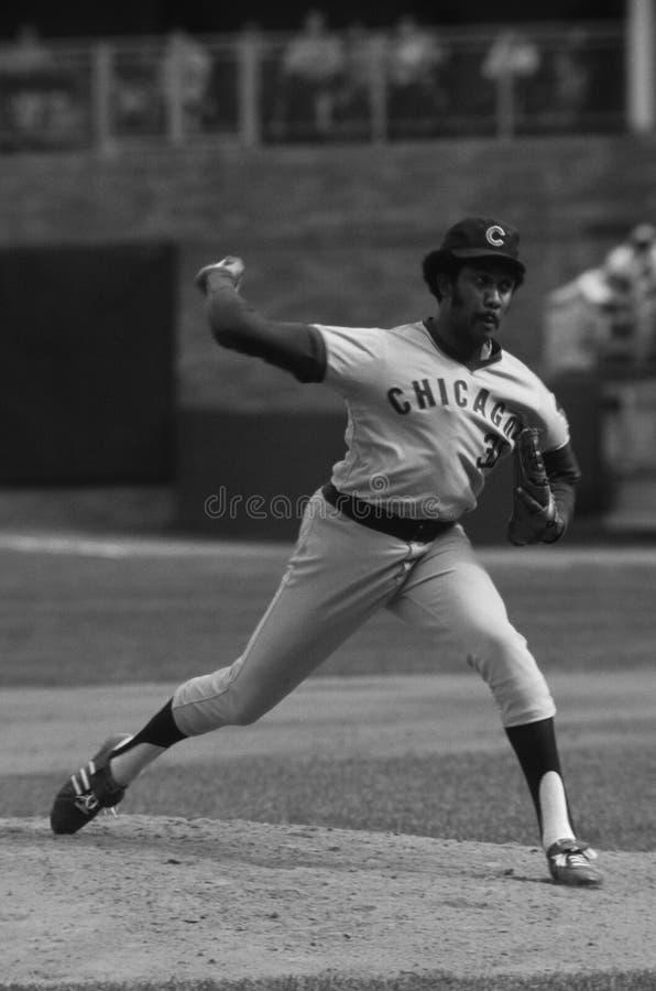 Chicago Cubs di Ferguson Jenkins immagine stock