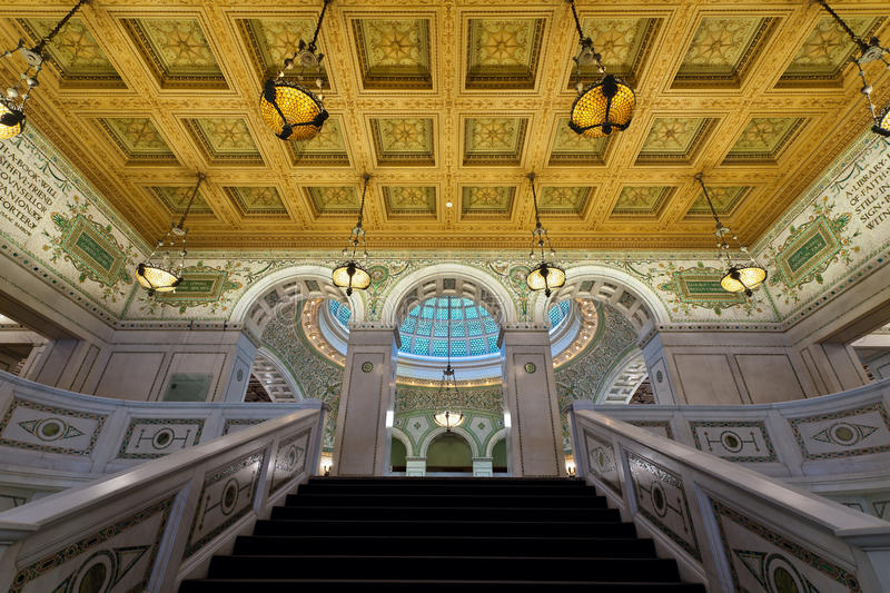 Download Chicago Cultural Center. Stock Image - Image: 24268351
