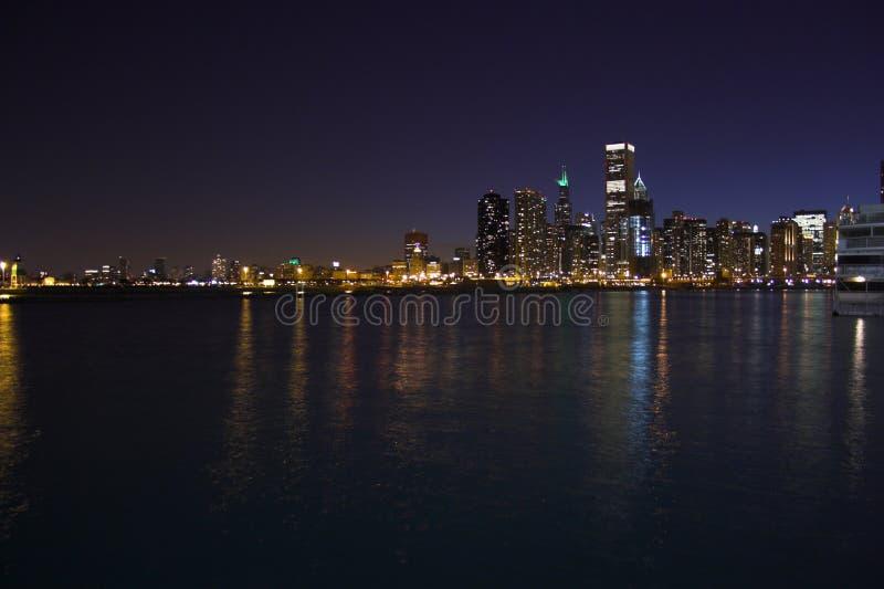 Chicago da acqua immagine stock libera da diritti