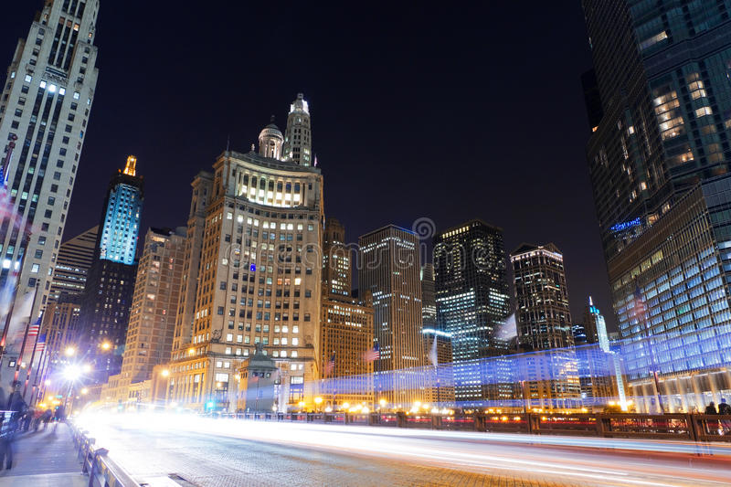 Chicago da baixa fotos de stock