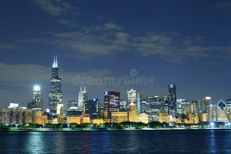 Chicago da baixa imagem de stock