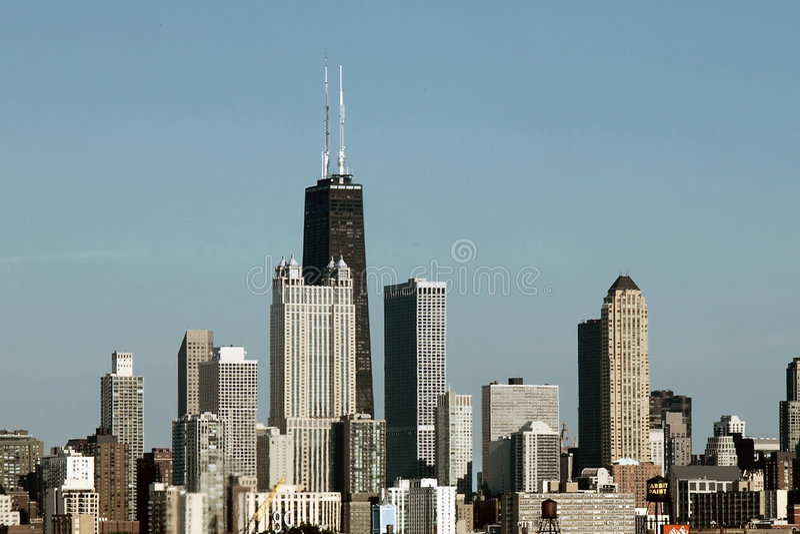 chicago dag arkivfoton