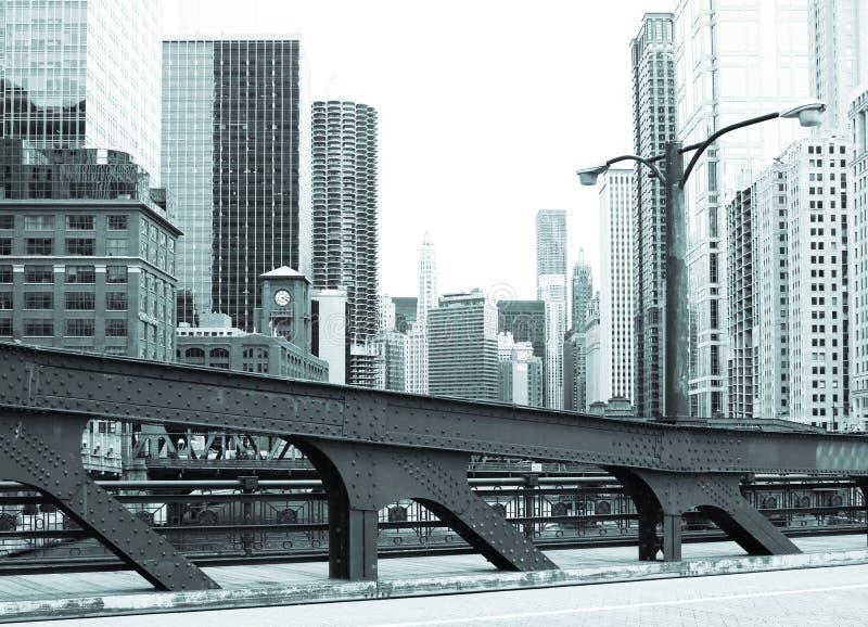 Chicago del centro fotografia stock libera da diritti