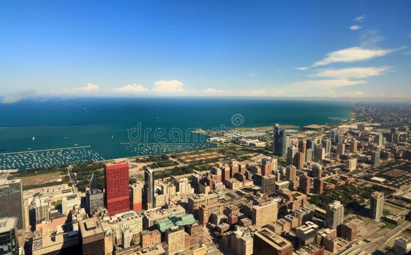 Chicago del centro fotografie stock libere da diritti