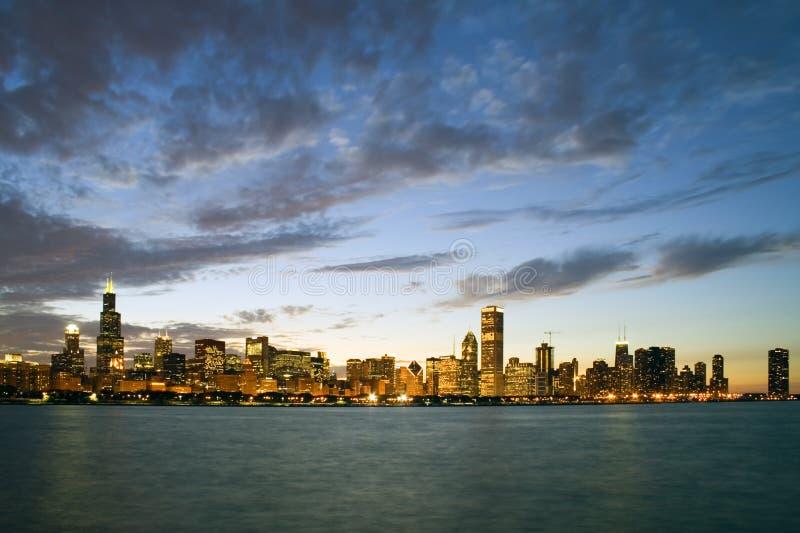 Chicago del centro fotografie stock