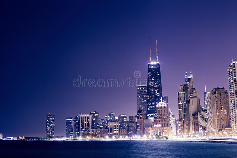 Chicago do centro foto de stock royalty free