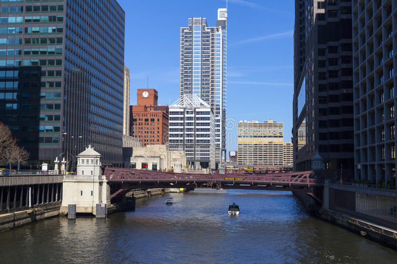 Chicago do centro imagem de stock royalty free