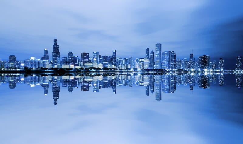 Chicago do centro imagens de stock royalty free