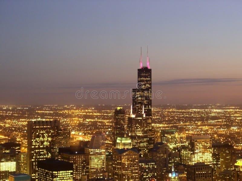 chicago downtown στοκ εικόνες