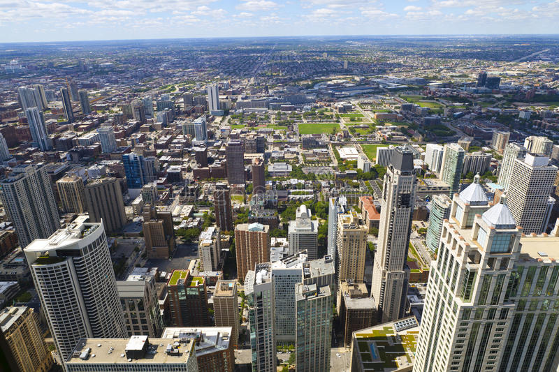 Download Chicago Downtown stock image. Image of city, commercial - 26613781