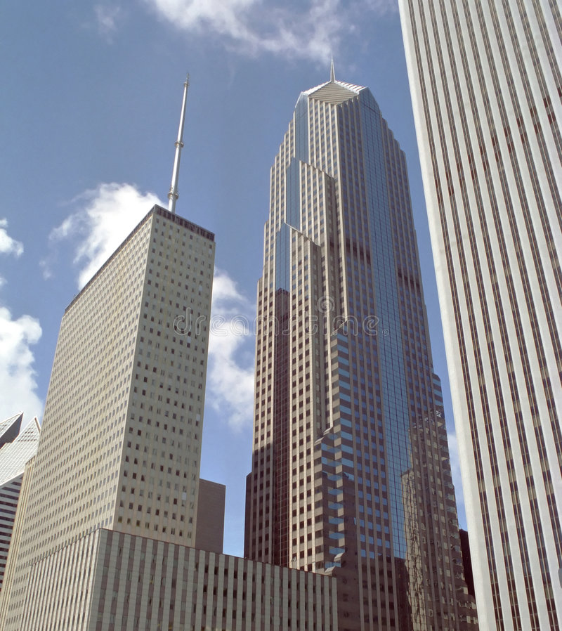 Download Downtown Buildings Chicago Illinois USA Royalty Free Stock Photo - Image: 2716575