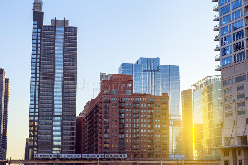 Download Chicago Downtown Stock Photos - Image: 33513393