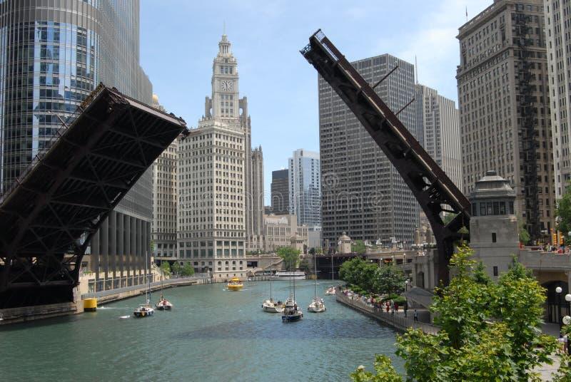 Chicago du centre photo libre de droits