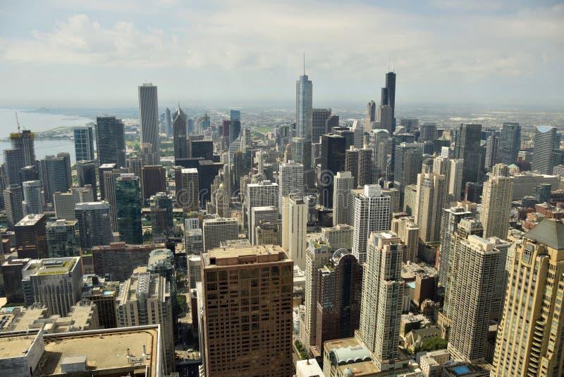 Chicago du centre l'Illinois photos libres de droits