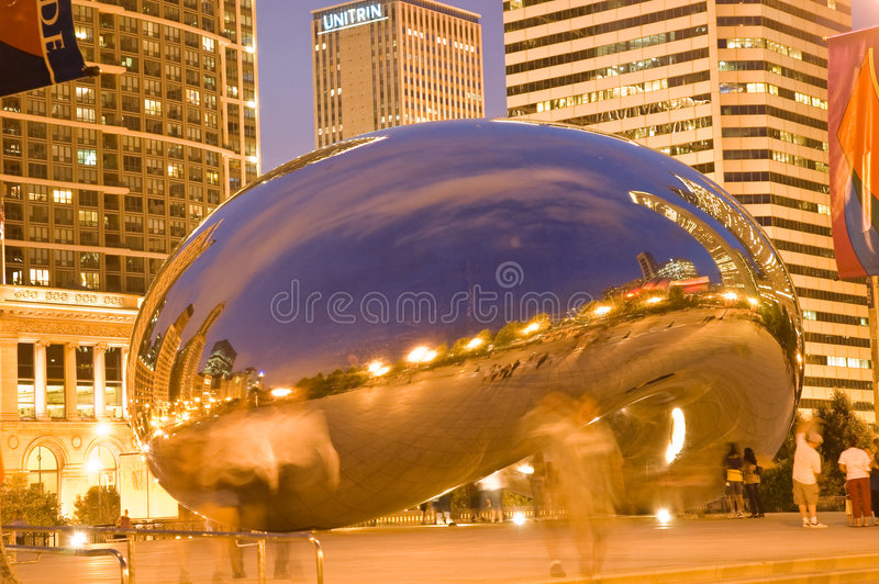 Chicago fasolki obrazy stock
