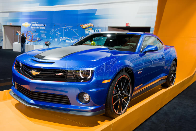Chevy in Chicago Auto toont royalty-vrije stock afbeelding