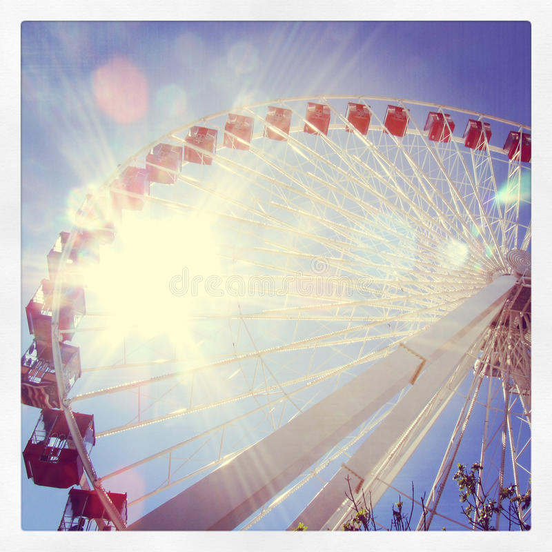Chicago Ferris Wheel foto de stock royalty free