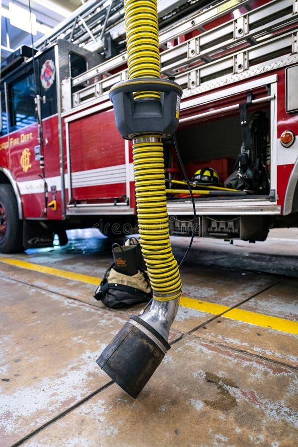 Chicago Fire reportage stock photos