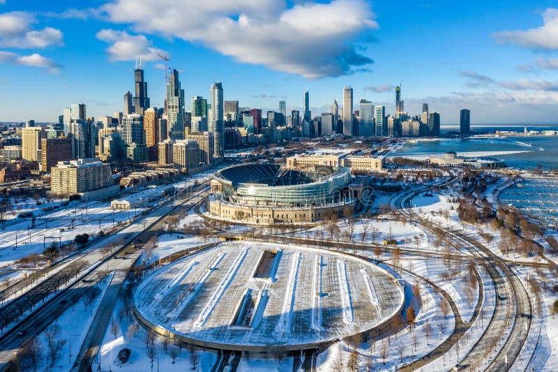 chicago stockbilder