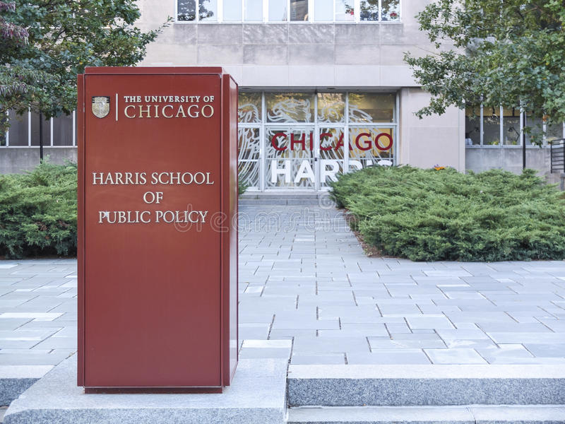 Chicago Harris School of Public Policy royalty free stock images