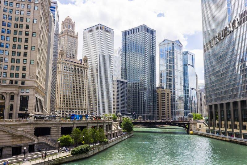chicago illinois стоковые фотографии rf
