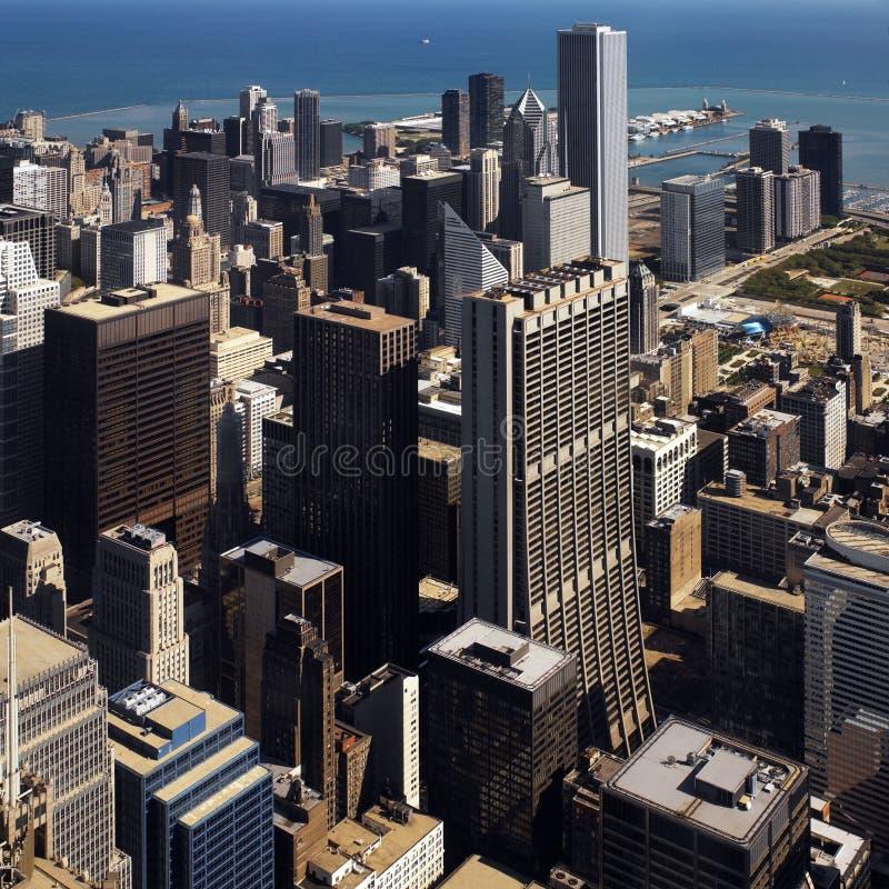 Chicago - Illinois Da Baixa - EUA Fotografia de Stock Royalty Free
