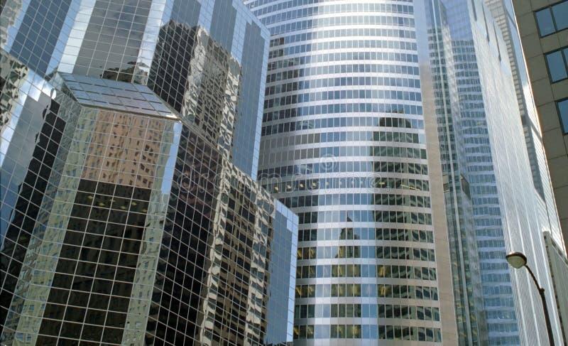 chicago, Illinois kwatera przemysłowe obraz stock