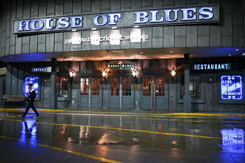 House of Blues in Chicago stock image