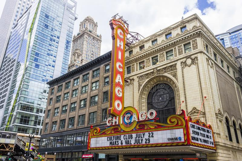 Chicago, Illinois royalty free stock image
