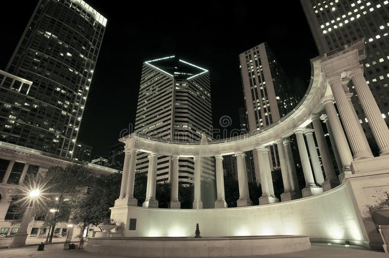 Download Chicago Illinois USA stock photo. Image of place, monument - 28325932