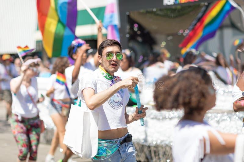 LGBTQ Pride Parade 2018 royalty free stock photo