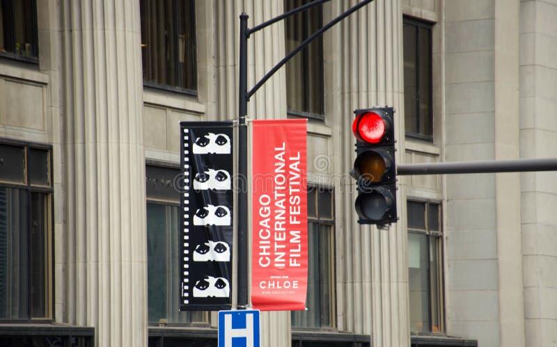 Chicago International Film Festival royalty free stock image