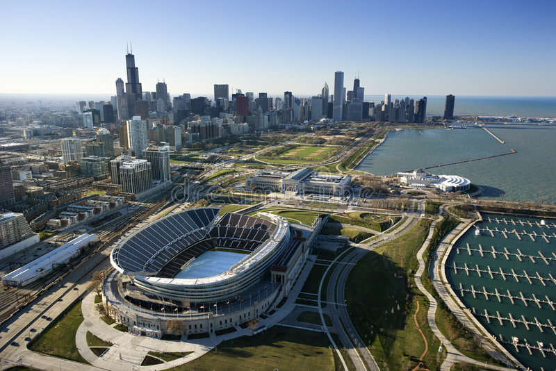 Chicago, l'Illinois. photos libres de droits