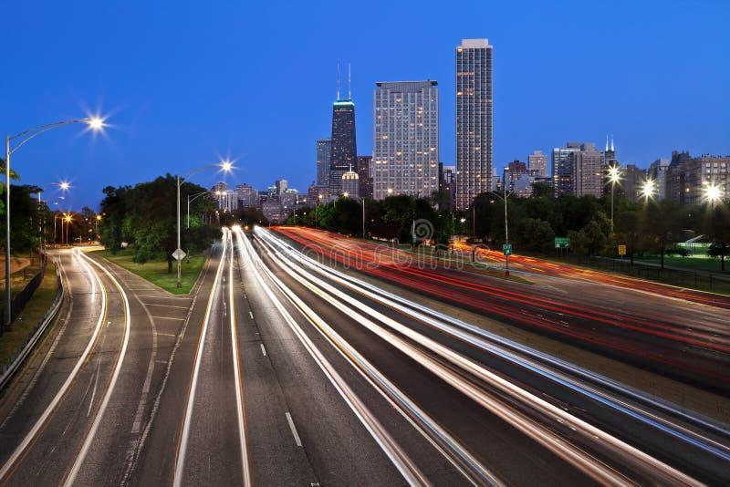 Download Chicago Lake Shore Drive. Royalty Free Stock Image - Image: 25262536