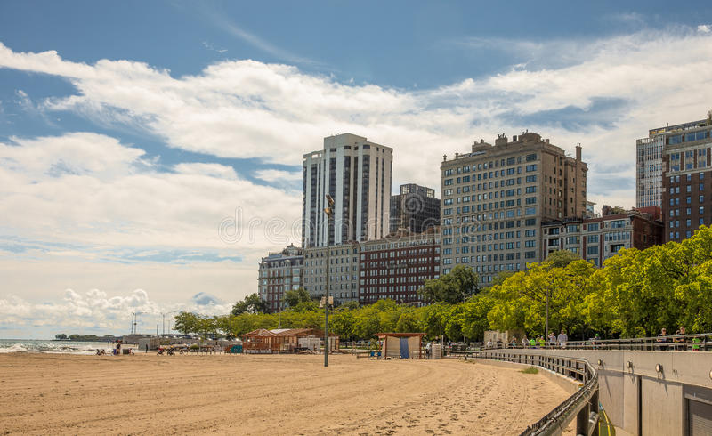 Chicago Lakefront royalty free stock image
