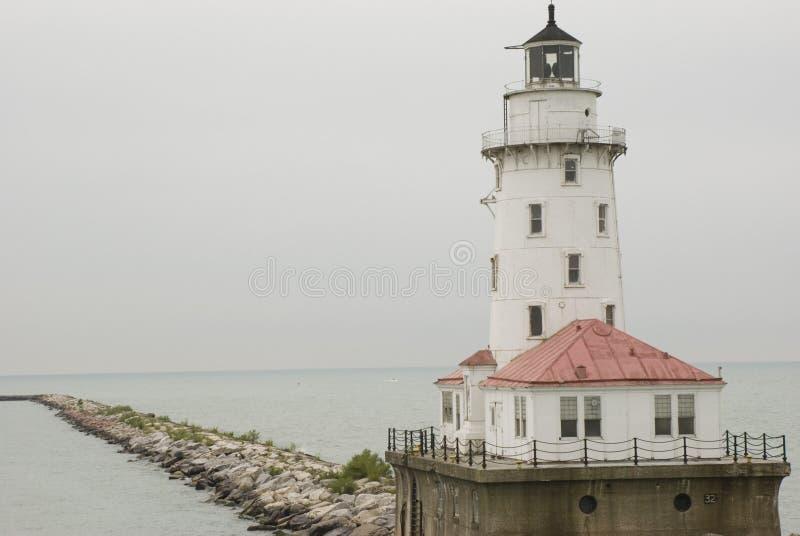 Chicago-Leuchtturm stockbilder