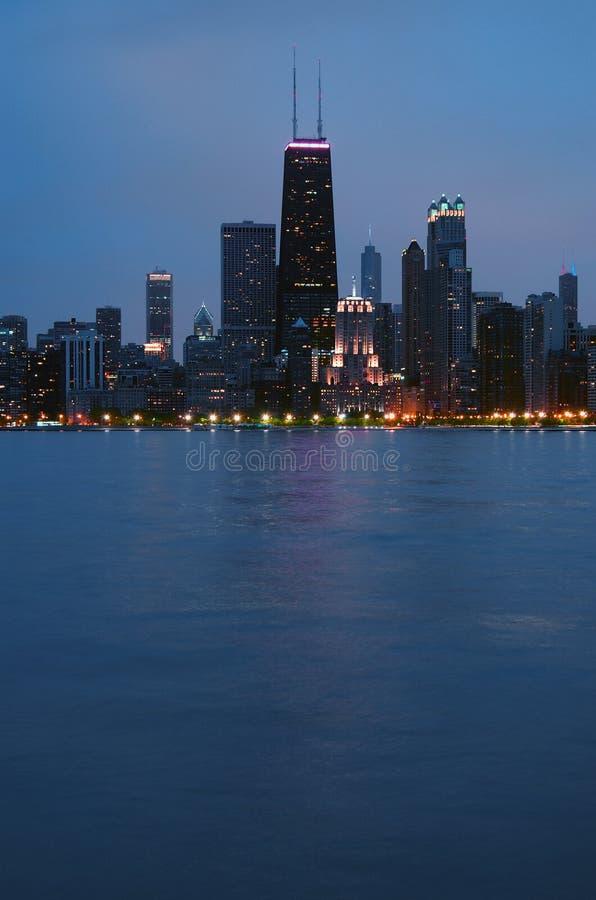 chicago linia horyzontu zdjęcie stock