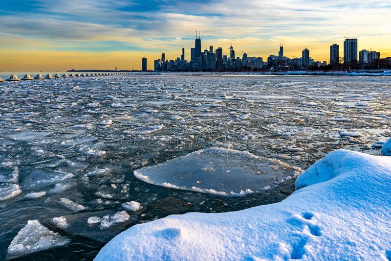 chicago obrazy royalty free