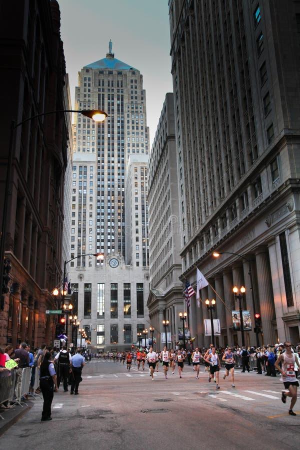 Chicago Marathon royalty free stock photography