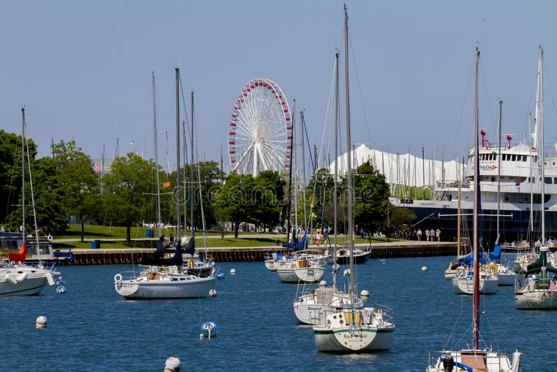 Chicago-Marinepier stockfoto
